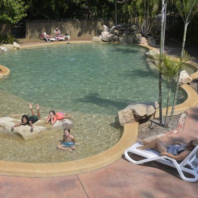 BIG4 Howard Springs Peddle Pools Spas 04